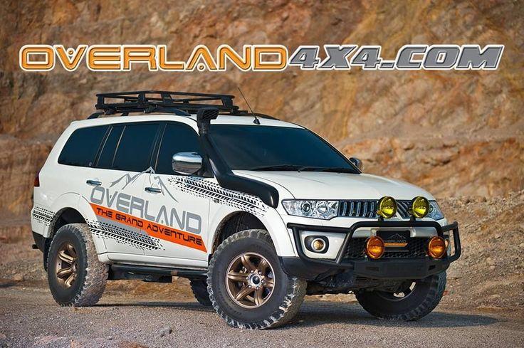 Mitsubishi Pajero sport with off road tyres Pesquisa