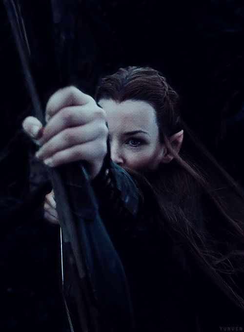 """Tauriel is a great example of the extremely rare instance when an added character is a positive thing."" 