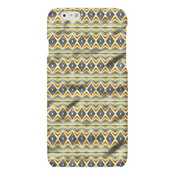 A colorful crumpled tribal paper with wave line in white and blue color and have blue diamond shapes between the lines.' You can also customize it to get a more personal look. #colorful #trendy #modern #decorative #abstract #abstract-pattern #stylish #tribal #crumpled-pattern #tribal-paper