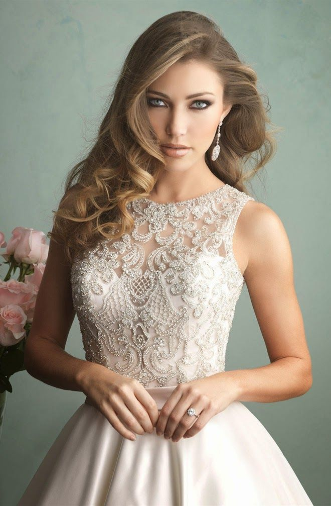 Gorgeous!!! Allure Bridals Fall 2014 - Belle the Magazine . The Wedding Blog For The Sophisticated Bride