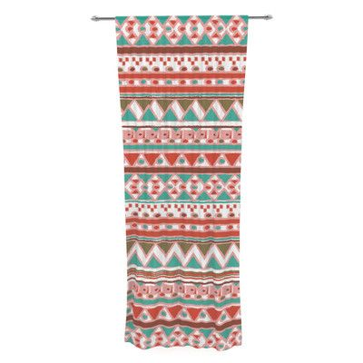 You'll love the Boho Mallorca by Nika Martinez Sheer Curtain Panel at Wayfair - Great Deals on all  products with Free Shipping on most stuff, even the big stuff.