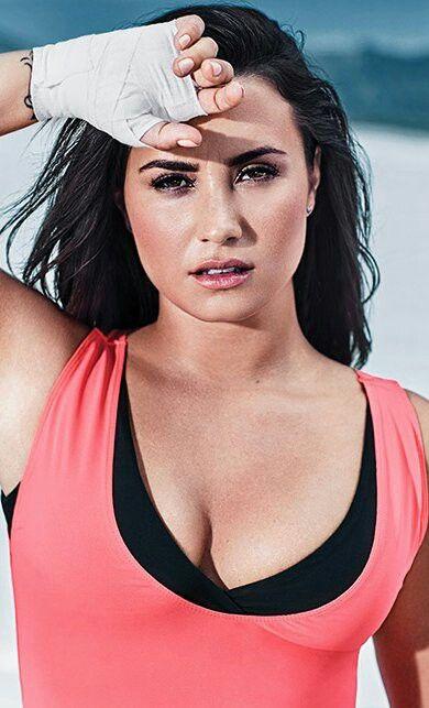 Demi Lovato for Fabletics, 2017.