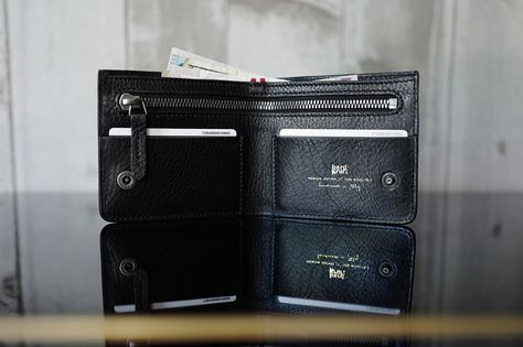 Hard Graft Atelier Zip Wallet via HYPEBEAST
