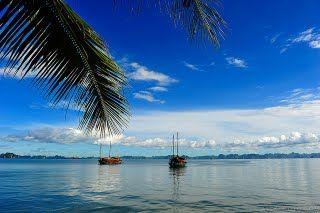 Bai Chay Beach http://www.reddragoncruise.com/guide/beaches-on-halong-bay/bai-chay-beach