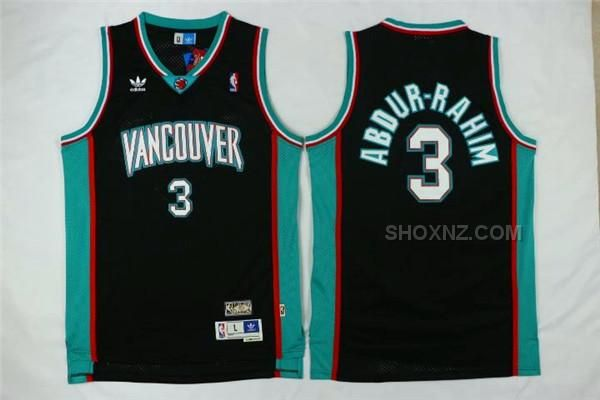 692180d8656 Shareef Abdur-Rahim Vancouver Grizzlies Adidas Throwback Swingman Jersey -  Teal httpwww.shoxnz.comgrizzlies-3-shareef-abdurrahim -black-hardwood- ...