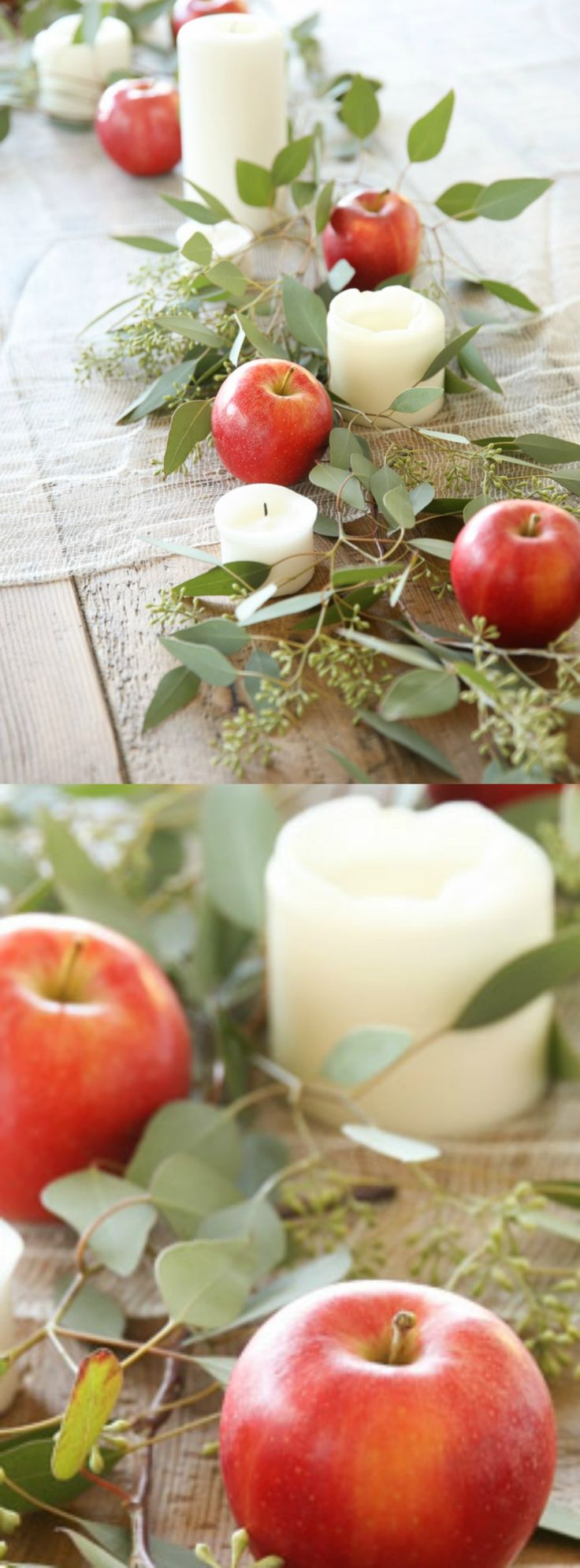 Easy 5 minute Thanksgiving or Christmas table setting that anyone can create without effort!
