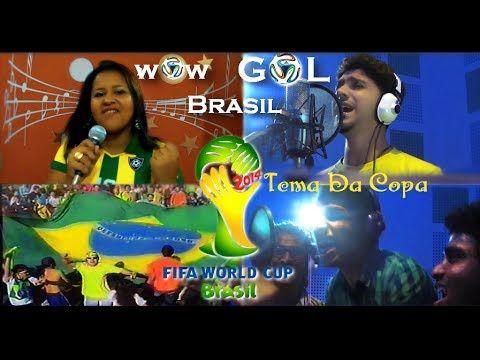 wOw GOL BRASIL(FIFA 2014) Tema Da Copa  Letra: Luana Thorserc e Elliz Rocha Compositor: Amal Antony Agustín Cantores: Amal and Elliz