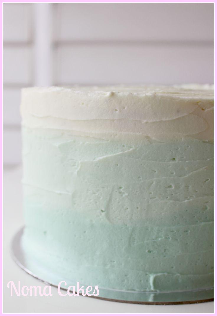 Tarta Degradada con receta de Buttercream y tutorial
