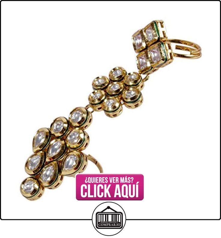 Bollywood Moda Oro Tono Indio Kundan Anillo partywear étnicos joyería  ✿ Joyas para niñas - Regalos ✿ ▬► Ver oferta: https://comprar.io/goto/B013WN1XB6