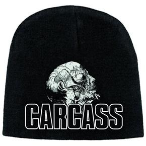 Carcass Necro Head Discharge Print Beanie Hat