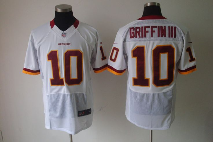 Nike NFL Jerseys Washington Redskins Robert Griffin III #10 White