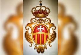 Escudo de la orden de la Merced del convento del Olivar ya que hoy es la Mercé , felicito a todas las Mercedes y a toda la familia Mercedaría