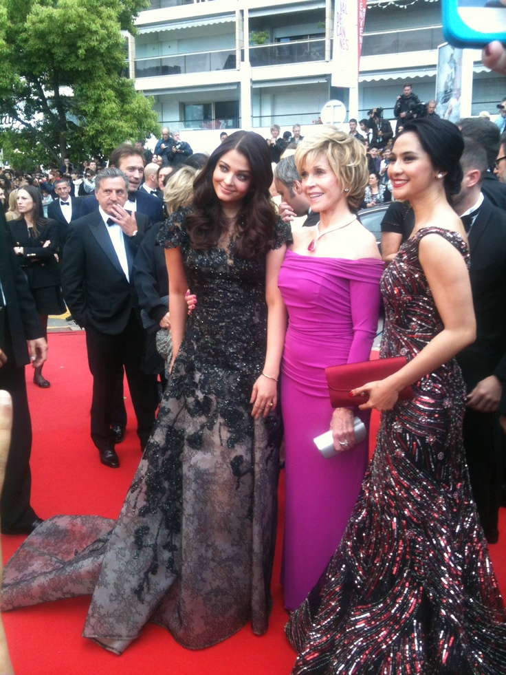 L'Oreal Paris brand ambassadors look lovely at Cannes 2013!
