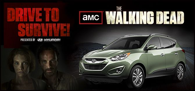 Special Edition 'Drive To Survive' #WalkingDead #Hyundai #Tucson