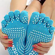 Outdoor Women's Socks Yoga Anti-skidding / Sweat-wicking Spring / Autumn / Winter Free Size(Random Colors) – GBP £ 1.75