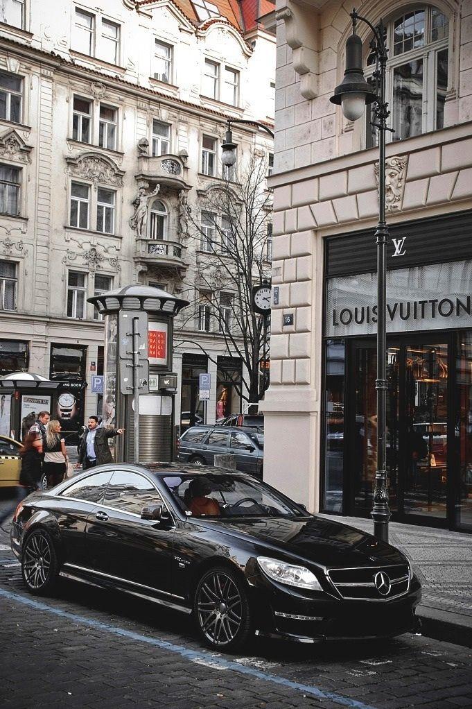 #mercedes #car #street #louisvuitton