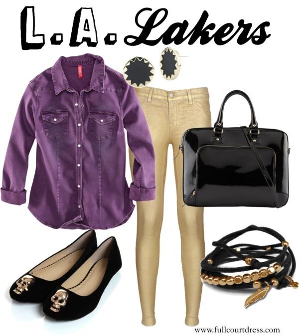 LA Lakers Gameday Style