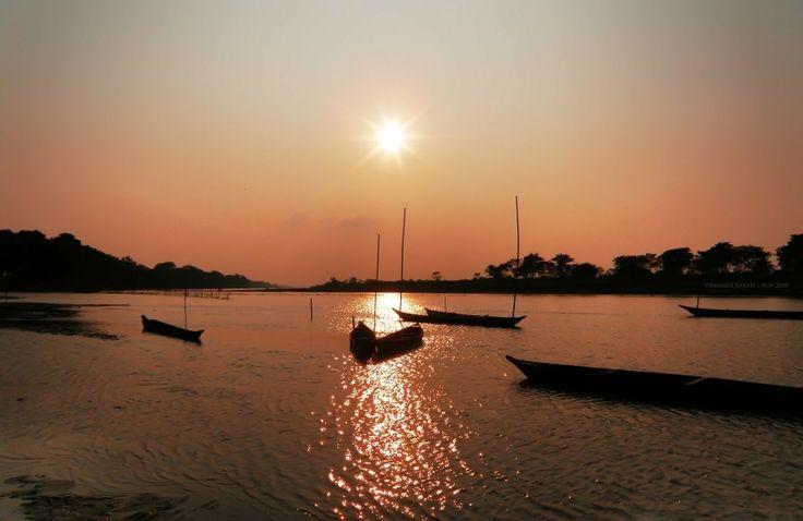 Indien #India #Indien #Travel #Resa #Resmål #Asia #Asien #Vacation #Semester #Båtar #Boats #Sun #sol
