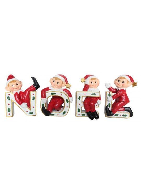 Noel Pixie Set of 4