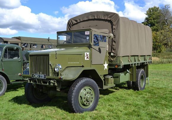 FWD HAR-1 4 ton cargo truck.The Four Wheel Drive (FWD) company of Clintonville, Wisconsin pioneered all wheel drive, and built military vehicles for the Allies during both world wars