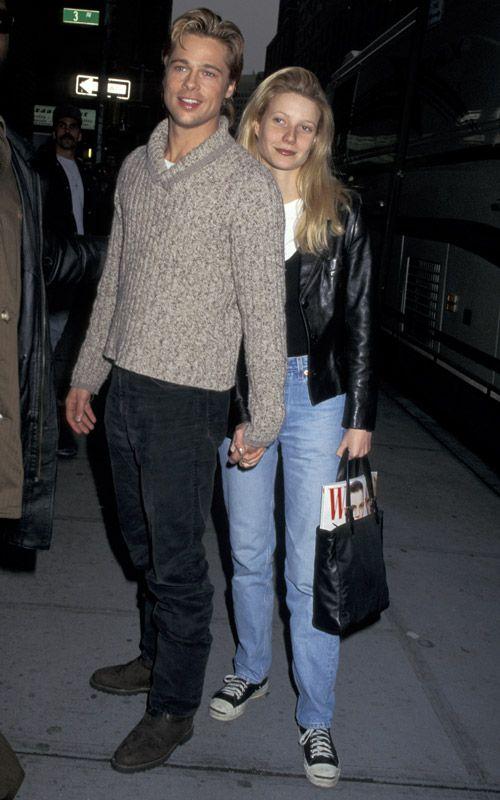 Brad Pitt and Gwyneth Paltrow,1996. | peeps | Pinterest