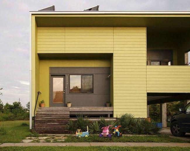 Брэд Питт построил дома для сотни семей