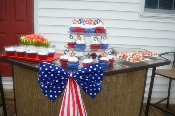 4th of july dessert party