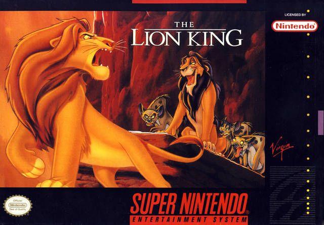 Lion King  Super Nintendo