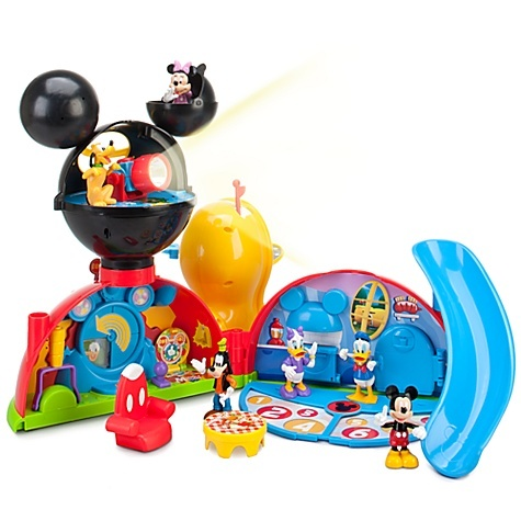 It's the Mickey Mouse Clubhouse! So cute! Mice, Disney Stores, Christmas Presents, Play Sets, Clubhouse Playset, Clubhouse Deluxe, Action Figures, Plays Sets, Mickey Mouse Clubhouse