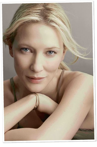 Cate Blanchett - actress Born 05/14/1969 in Melbourne, Victoria, Australia - known for The Curious Case of Benjamin Button, Lord of the Ring Movies, Elizabeth: the Golden Age, The Aviator - just to name a few!