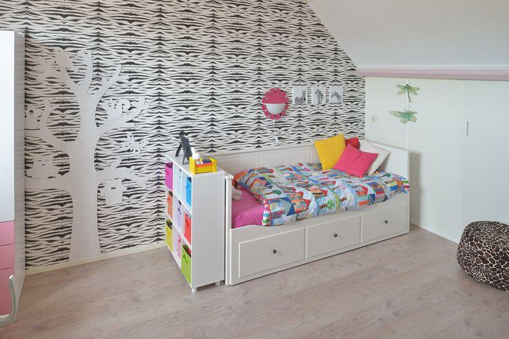 Kinderkamer met safari print