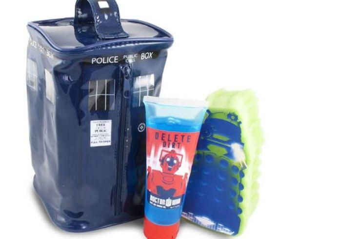 Il set da bagno di Doctor Who | DottorGadget