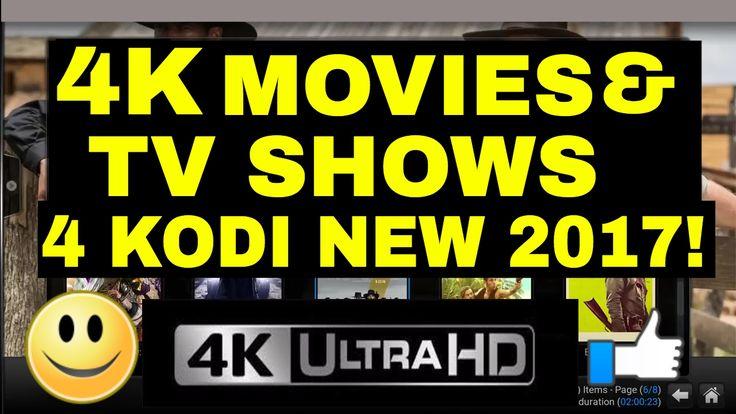 awesome BEST 4K MOVIES & TV SHOWS ADDON KODI 2017 LIKE!