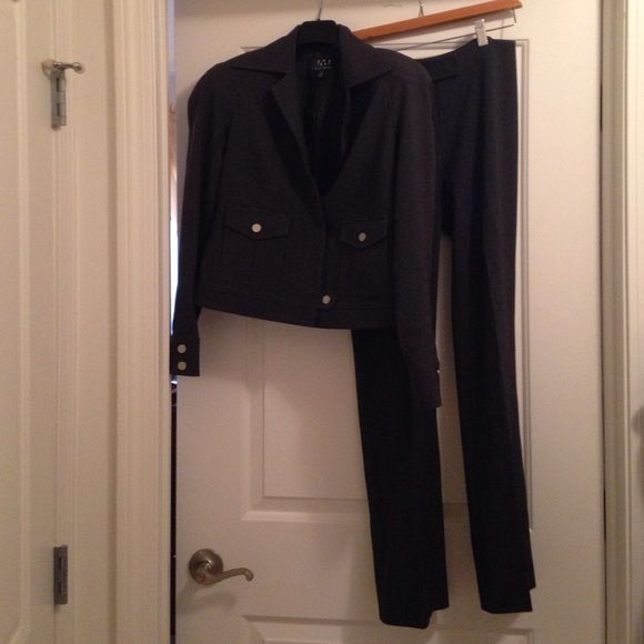 David Meister pantsuit David Meister pantsuit with silver disc button detailing on back/bottom of pants as well David Meister Other