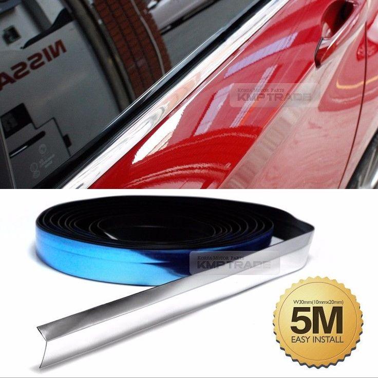 Janela de Borda Cromada Flexível porta molde acessório Lateral Chinelo 5 Metros para todos os carro | eBay Motors, Peças e acessórios, Peças de carro e caminhão | eBay!