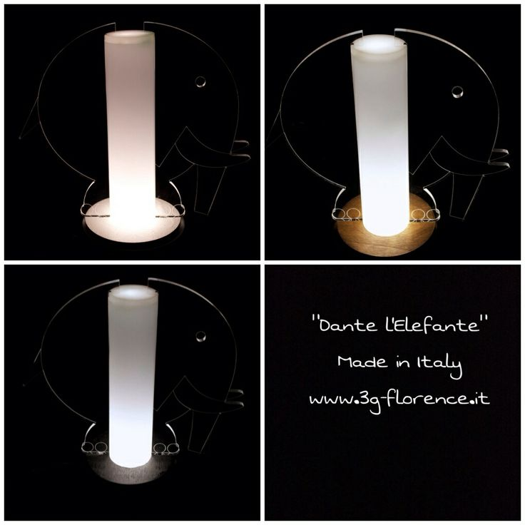 Dante Elefante la lampada per la cameretta elegante !!! http://www.3g-florence.it/prodotto/design/dante-elefante/