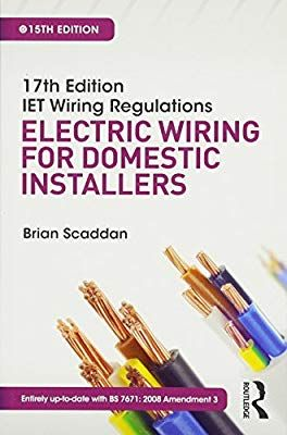 Strange Iet Wiring Regulations Electric Wiring For Domestic Installers Wiring Cloud Nuvitbieswglorg