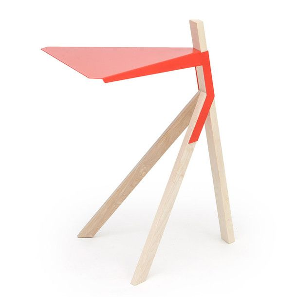 HULK Side Table Red