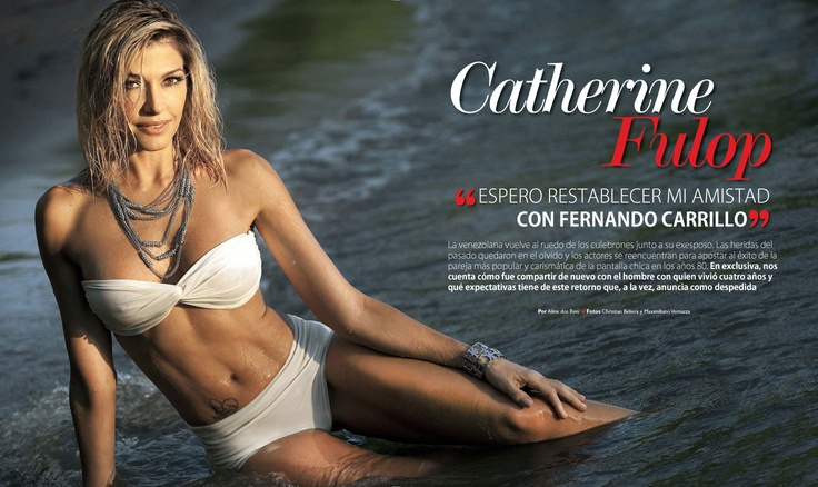 Catherine Fulop vuelve con Fernando Carrillo... para una telenovela