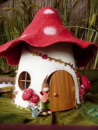 566 Best GNOME HOUSES Images On Pinterest   Fairy Homes, Garden Art And Mushroom  House