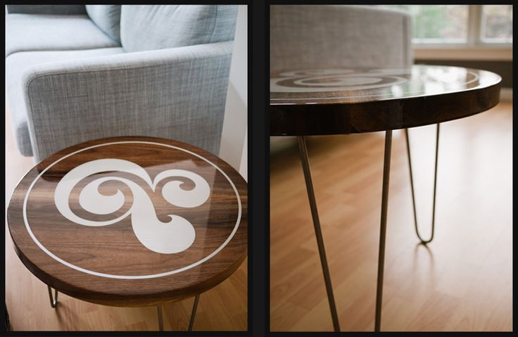 Ampersand coffe table
