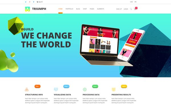 CREATIVE BUNDLE   100+ pages in 2 Themes