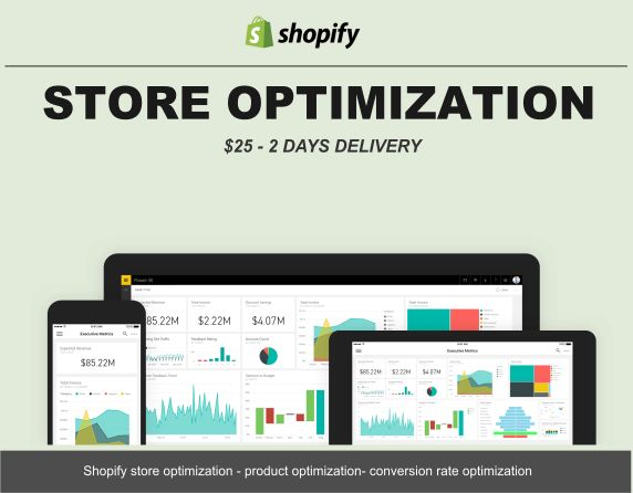 Shopify product listing enhancement , optimization, conversion rate optimization. GetProduct listing enhancement, Store optimization, Conversion rate optimization Price:$25 Delivery time: 2days Gigs type :Product listing optimization, store optimization, conversion rate optimization Number ofproducts optimization :5-10 Research platform :Amazon , Shopify, WordPress, Ebay, Etsy Other Research deliverable:Online,MS excel, PDF, Doc.  Store Optimization, Conversion Rate Optimization. …