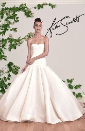Sweetheart Princess/Ball Gown Wedding Dress  with Dropped Waist in Satin. Bridal Gown Style Number:33356007