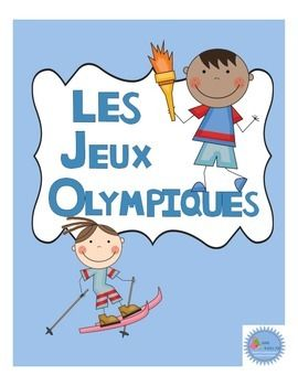 Cahier d'activités les jeux olympiques/French olympic game