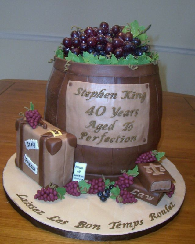 Birthday Cake Pictures For 40 Year Old Woman : Birthday Cake 40 Year Old cakes Pinterest