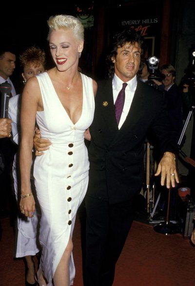 Brigitte Nielsen Sylvester Stallone