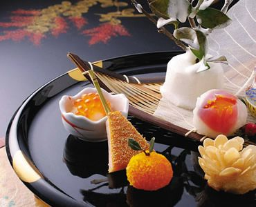 Japanese foods (Kyo-kaiseki)