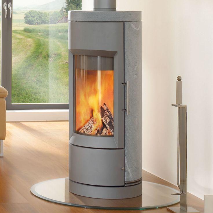 Grey / Soapstone Hase Kaminofenbau - Bari http://www.hearthstonestoves.com/store/wood-products/wood-stoves/bari