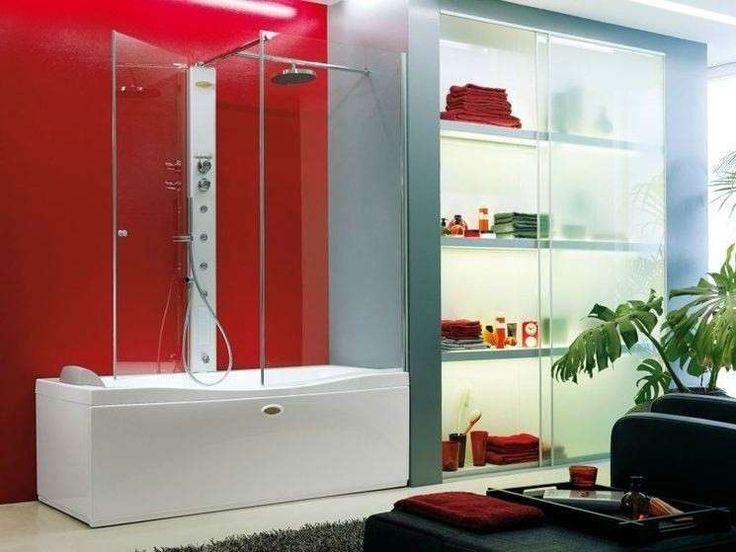 Vasche doccia combinate - Vasca-doccia modello Link di Jacuzzi Europe